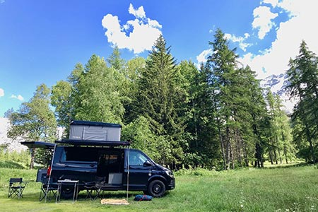 Campervan hire in Annecy