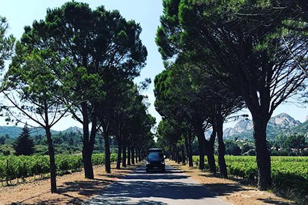 Campervan hire south of France - Avignon
