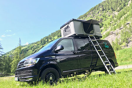Campervan hire in Marseille